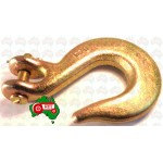 "6mm 1/4"" Chain Clevis Slip Hook Hooks High Tensile G70 2300kg Lash"
