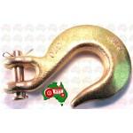 "8 mm 5/16"" Chain Clevis Slip Hook Hooks High Tensile G70 3800kg Lashing Capacity"