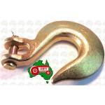 "13 mm 1/2"" Chain Clevis Slip Hook Hooks High Tensile G70 9000kg Lashing"