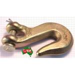 "8 mm 5/16"" Chain Clevis Grab Hook Hooks High Tensile G70 3800kg Lashing Capacity"