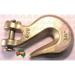 "10 mm 3/8"" Chain Clevis Grab Hook Hooks High Tensile G70 6000kg Lashing capacity"