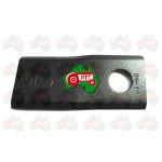 RH Disc Mower Blade ID 16.25mm, 93mm x 40mm x 3mm