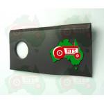 RH Disc Mower Blade ID 19mm, 93mm x 49mm x 3mm
