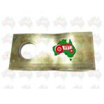 LH Blade Disc Mower ID 18.50mm, 120mm x 48mm x 4mm VICON 90258699