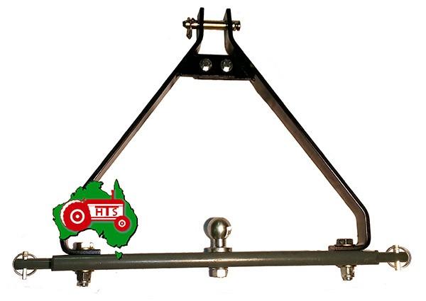 3 Point Hitch Draw Bar Stabilizer : Drawbar towbar stabilizer kit cat