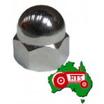 Domed Chrome Nut