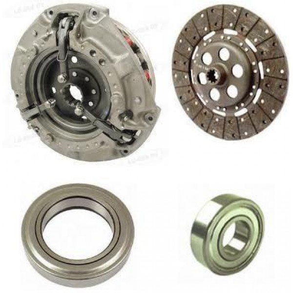 Tractor Dual Clutch : Clutch kit quot dual with spline pto plate