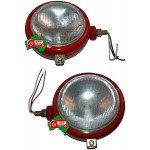 Headlight Light Lamp Set Side Mount