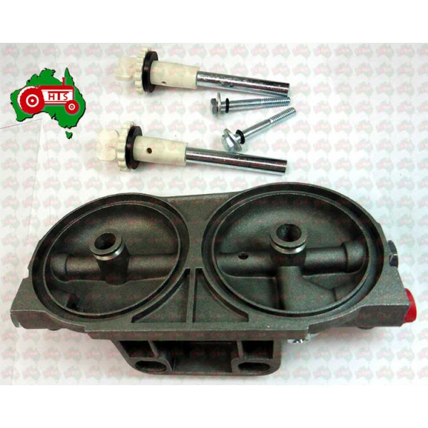 Cav Dual Filter Head Assembly All Models