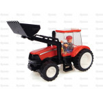 Tractor UNIVERSAL HOBBIES Case IH Tractor /w Front Loader Toy Brick Building Kit