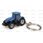 Tractor Key Ring Scale UNIVERSAL HOBBIES Ford New Holland T7 225