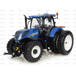 Tractor 1/32 Scale UNIVERSAL HOBBIES Ford New Holland T7.225 Dual wheels