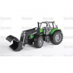 Tractor 1/16 Scale Bruder Deutz-Fahr Tractor with loader