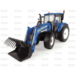 Tractor 1/32 Scale UNIVERSAL HOBBIES New Holland T5.120 with Loader