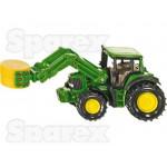 Tractor Scale SIKU John Deere Tractor with Bale Gripper