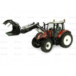 Tractor 1/32 UNIVERSAL HOBBIES New Holland T5.120 ''Centenario'' with front loader