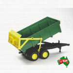 1/16 Scale Toy Bruder Forestry Tipping Trailer
