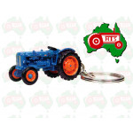 Tractor UNIVERSAL HOBBIES Key Ring Scale Ford New Holland Power Major