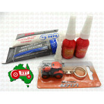 Christmas Xmas Gift Tractor Pack Toy Sealant Farmer Kubota Keychain Kit